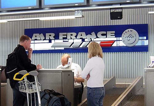 come fare check in online air france