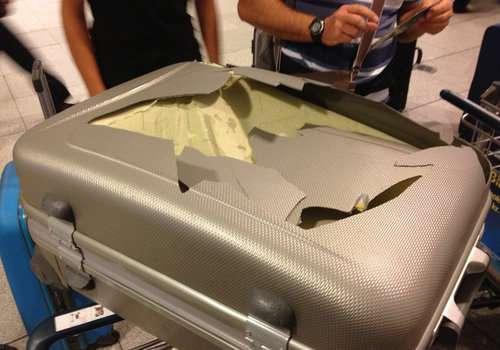 bagaglio danneggiato lufthansa