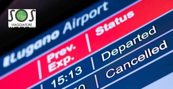 risarcimento volo annullato