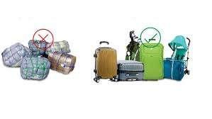 Regole per il bagaglio da stiva