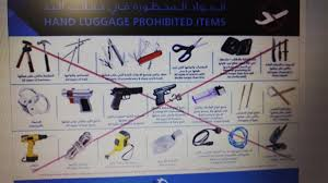 cosa non portare nel bagaglio a mano