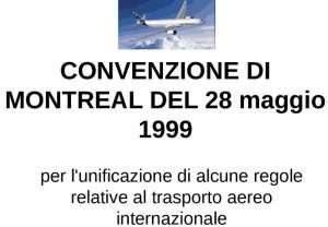 convenzione di montreal