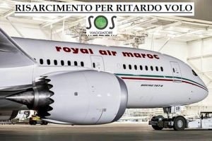 ritardo volo prolungato royal air maroc
