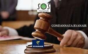 condannata ryanair per ritardo volo