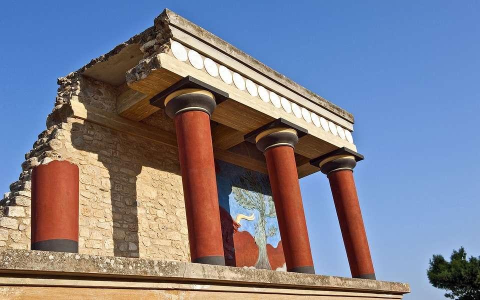 creta palazzo di Knossos