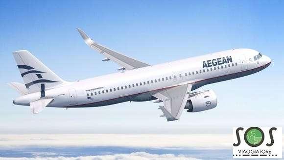Rimboso cancellazione volo Aegean