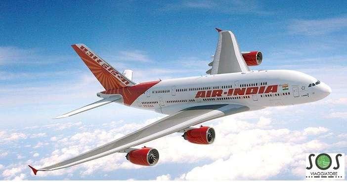 Rimborso cancellazione volo Air India