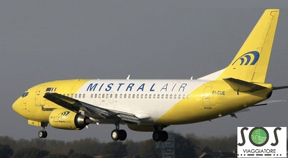 Rimborso volo Mistral Air