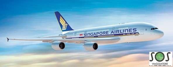 Rimborso volo Singapore Airlines
