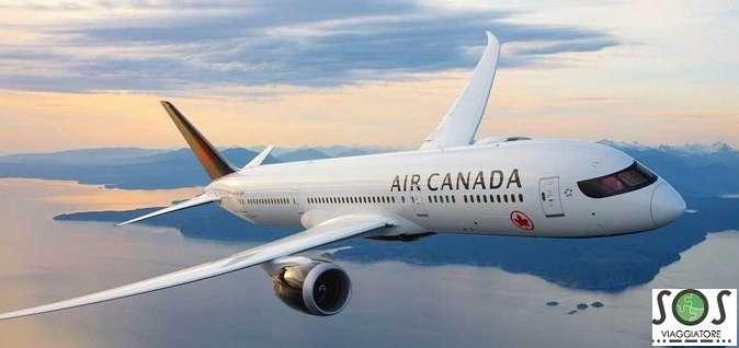 Rimborso cancellazione volo Air Canada