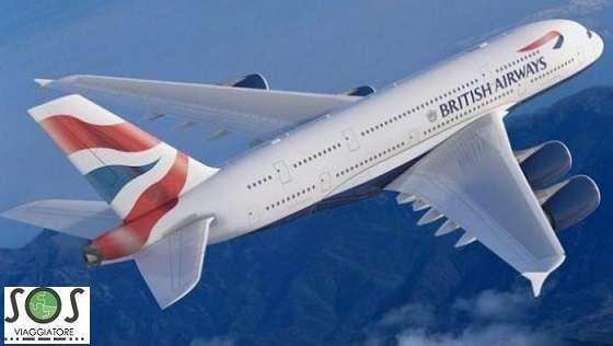 Volo cancellatto da British Airways