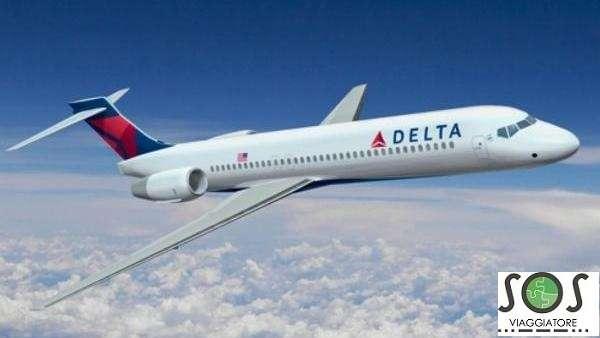 Rimborso volo Delta Air Lines