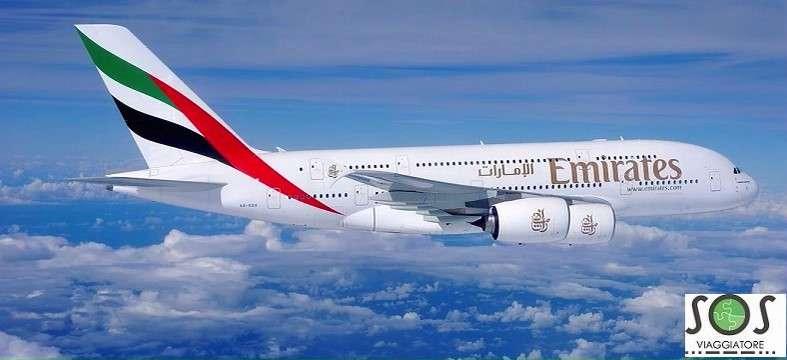 Rimborso volo Emirates