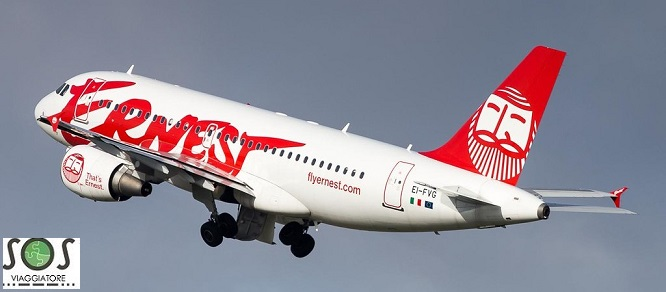 Rimborso volo Ernest Airlines