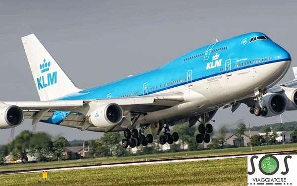 Rimborso volo KLM