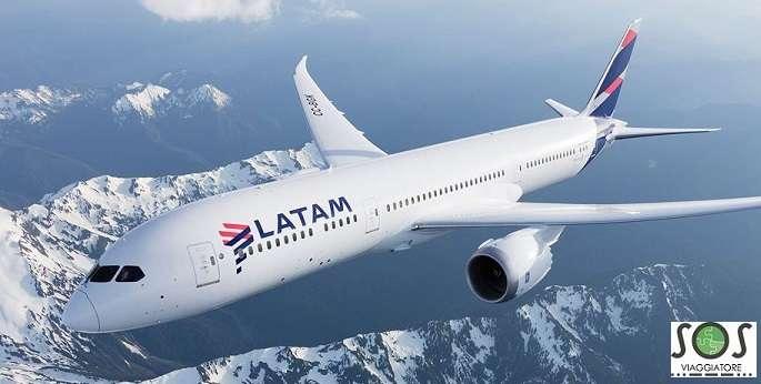 Rimborso cancellazione volo Latam Air Lines