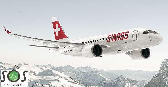Rimborso volo Swiss Air