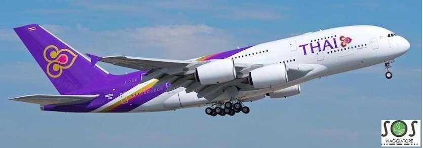 Rimborso cancellazione volo Thai Airways