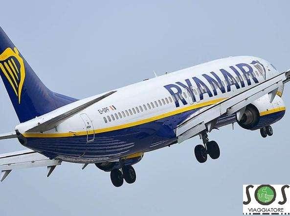 Rimborso volo Ryanair