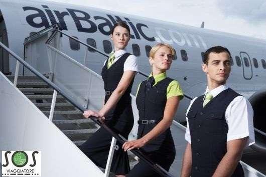 Air Baltic Bagaglio danneggiato