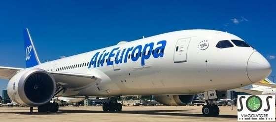 Bagaglio danneggiato Air Europa