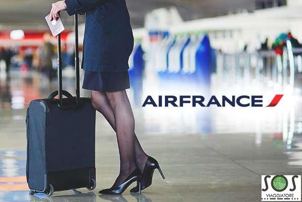 Bagaglio danneggiato Air France