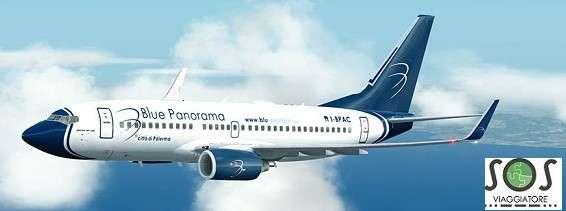 bagaglio danneggiato Blue Panorama