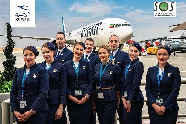 bagaglio danneggiato kuwait airways