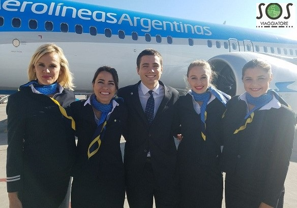 aerolineas aragentina crew