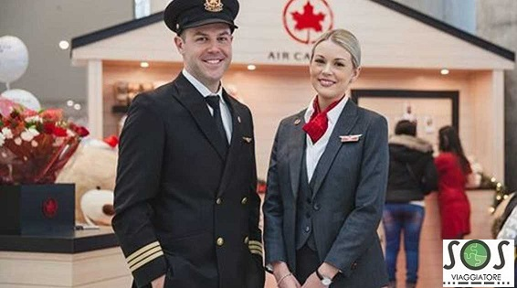bagaglio danneggiato Air Canada