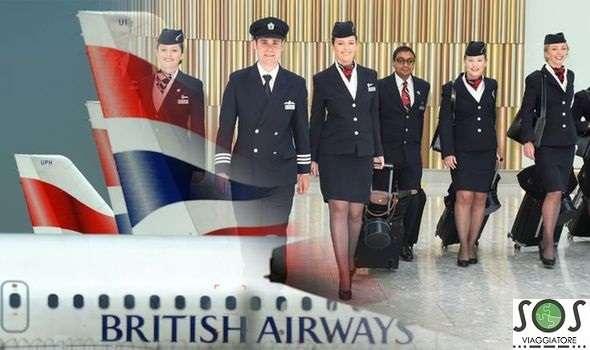 bagaglio danneggiato British Airways