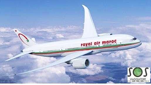 bagaglio danneggiato Air Maroc