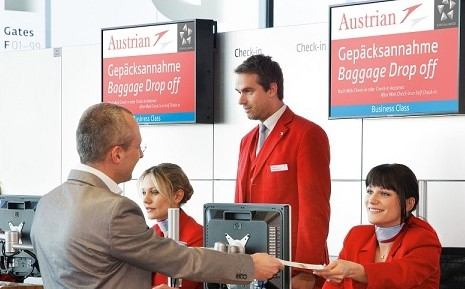 Austrian Airlines check in online