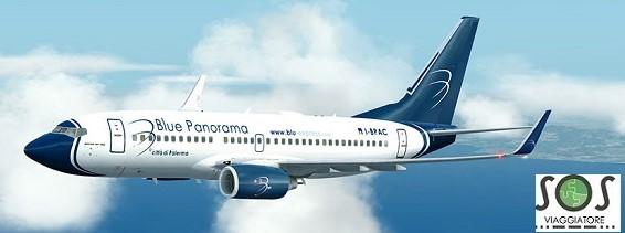 Rimborso del biglietto aereo per motivi di salute con Blue Panorama