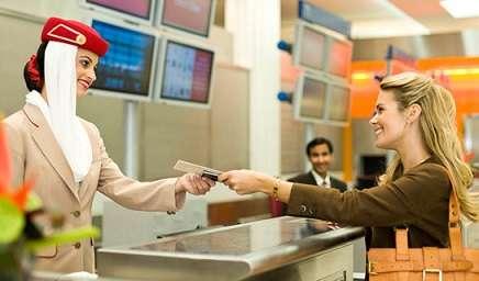 Come fare il check in online con Emirates