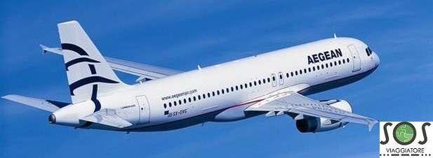 Rimborso del biglietto aerero per motivi di salute con Aegean Air Lines