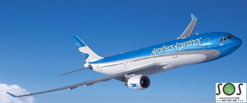 Rimborso del biglietto aereo per motivi di salute con Argentinas Aerolineas