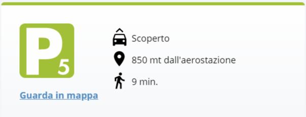Aeroporto Bologna: Parcheggio 5