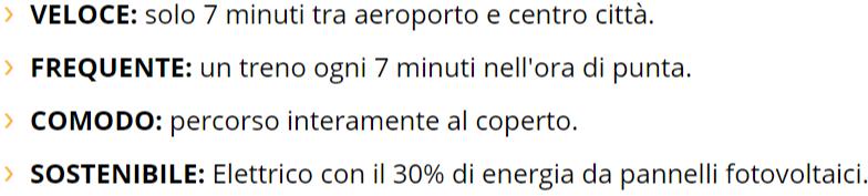 Aeroporto di Bologna, Marconi Express