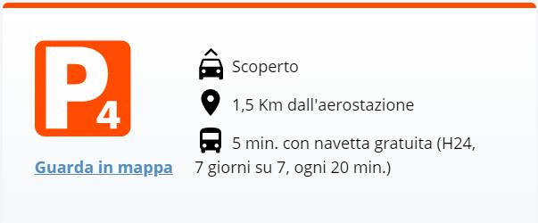 Aeroporto Bologna: Parcheggio 4