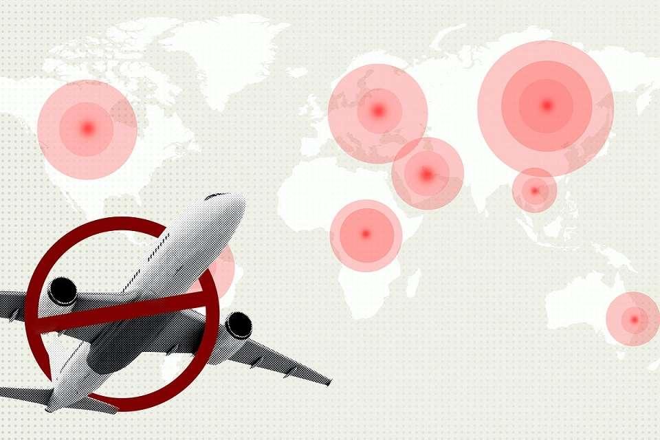 Come il Covid-19 ha condizionato i voli a livello internazionale.