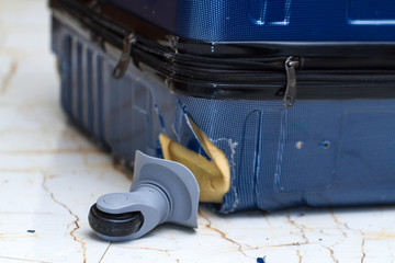 bagaglio danneggiato Brussels Airlines. Richiedi la nostra assistenza gratuita per il rimborso