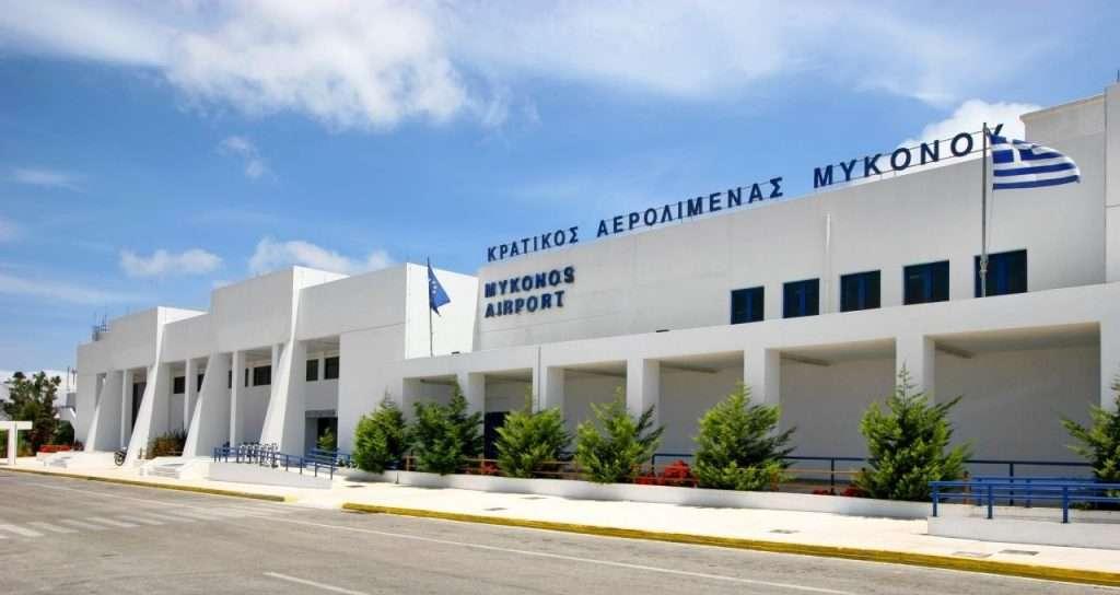 Aeroporto di Mykonos. Tutte le info su come raggiungere l'aerporto e raggiungere il centro dell'isola.