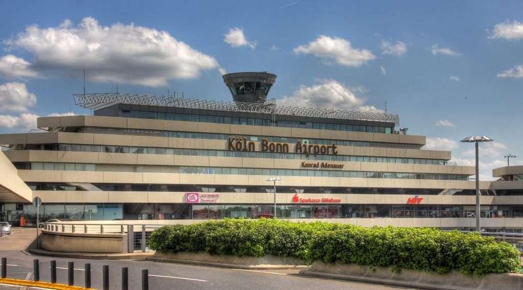 Aeroporto di Colonia.