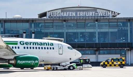 aeroporto di erfurt