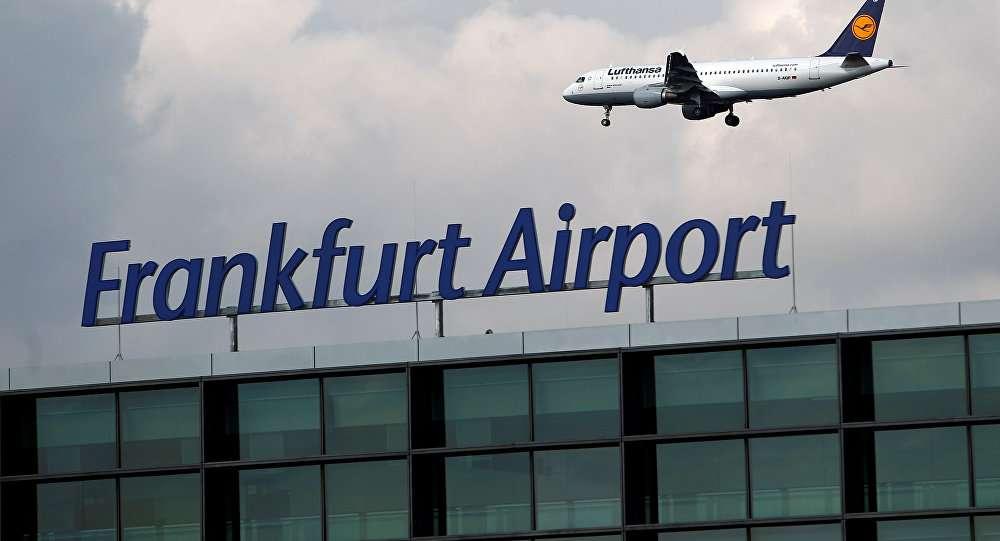 aeroporto di francoforte.