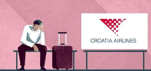 Ritardo volo Croatia Airline