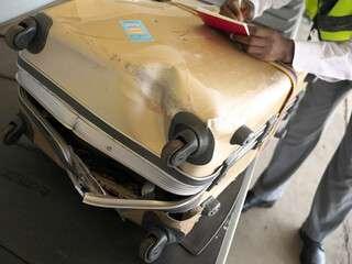 bagaglio danneggiato tarom